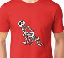 funny blowjob sex skeleton  Unisex T-Shirt