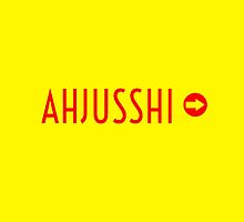 AHJUSSHI  - YELLOW by Kpop Love