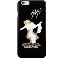 Lady Gaga Alejandro iPhone Case/Skin