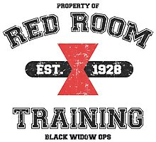 Red Room Training- White & Black(vari. 3) by thejessi