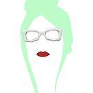 Lady Gaga Mint Wig by LewisGaga