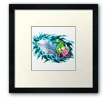 sword kirby Framed Print