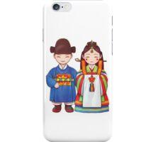 Korean Wedding Dolls iPhone Case/Skin
