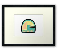 Abstract '80s 06 Framed Print