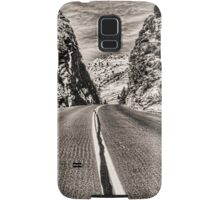 Route 9 through Zion National Park Samsung Galaxy Case/Skin
