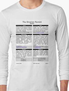 Utopian Herald Long Sleeve T-Shirt