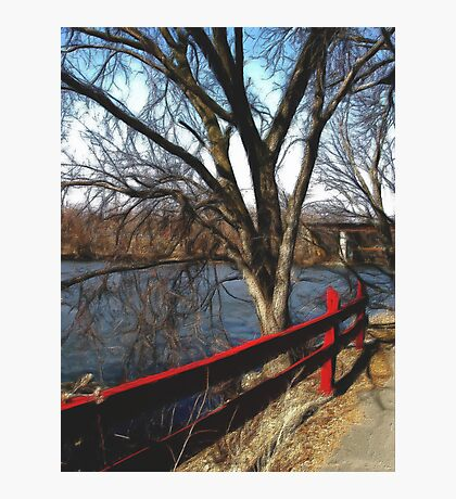 Along the Fox River Photographic Print