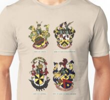 A Complete Guide To Heraldry - Plate II - Arms of Carlos, Rose of Bladensburg, Campbell, and Lane of Kings Bromley Unisex T-Shirt
