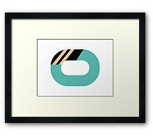Abstract muted '80s 09 Framed Print
