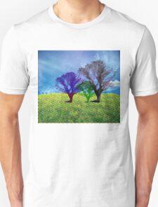halftone tree T-Shirt