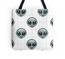 Alien Emoji Phone Case  Tote Bag