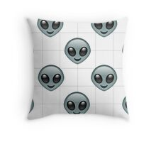 Alien Emoji Phone Case  Throw Pillow