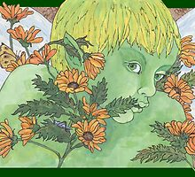 Green Fairy by redqueenself