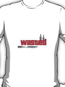 GTA 'wasted' drunk design. T-Shirt