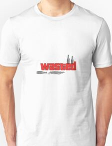 GTA 'wasted' drunk design. T-Shirt