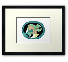 Abstract '80s 11 Framed Print
