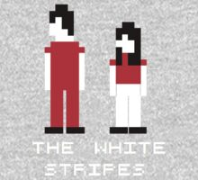 The White Stripes Pixel. Kids Tee
