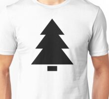 Fir tree symbol Unisex T-Shirt