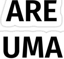 Gay Rights (Black Font) Sticker