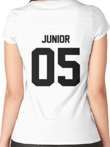 05 - Geronimo Junior Women's Fitted Scoop T-Shirt