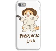 Waffles Leia iPhone Case/Skin