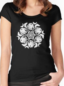 Grey Seal ZOOFLAKE Women's Fitted Scoop T-Shirt