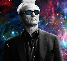 BILL MURRAY GALAXY COSMOS by ThatGuyScout