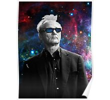 BILL MURRAY GALAXY COSMOS Poster