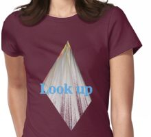 LOOK UP! Womens Fitted T-Shirt