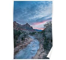 Worth the Wait – Zion National Park, Utah Poster