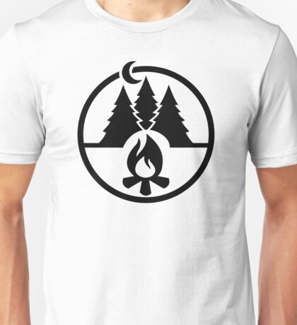 Campfire camping Unisex T-Shirt