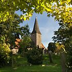 All Saints Church at Birchington by Geoff Carpenter