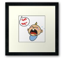 its really tough sometimes Framed Print