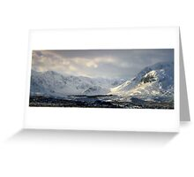 Blackmount  Rannoch Moor Greeting Card