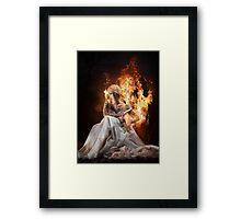 No Fury. Framed Print
