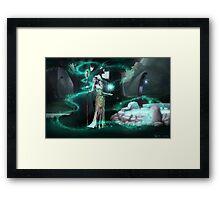 Moonglade Framed Print
