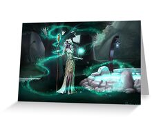 Moonglade Greeting Card