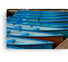 Boats for Hire Canvas Print