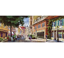 Germany Baden-Baden Lange Str Photographic Print