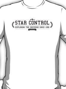Star Control - Retro Black Clean T-Shirt