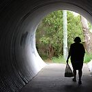 light at the end of the tunnel... literally by alyssa naccarella