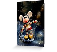 Lost In Space Mickey - Found Again Greeting Card