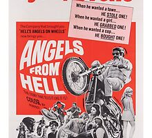 Angels From Hell (Pink) by PulpBoutique