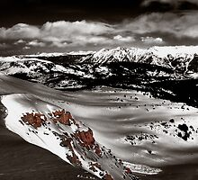 Outcrop on the Divide by Wayne King