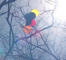 Trapped Balloons by Annie O'Sullivan