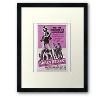 Hell's Belles (Purple) Framed Print
