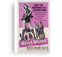 Hell's Belles (Purple) Canvas Print