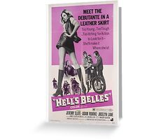 Hell's Belles (Purple) Greeting Card