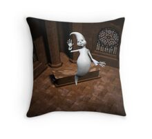 casper? Throw Pillow