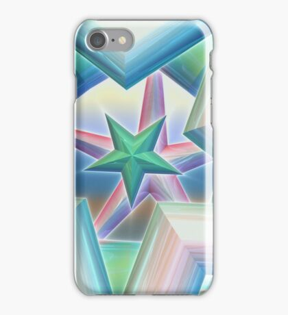 Metallic Stars iPhone Case/Skin